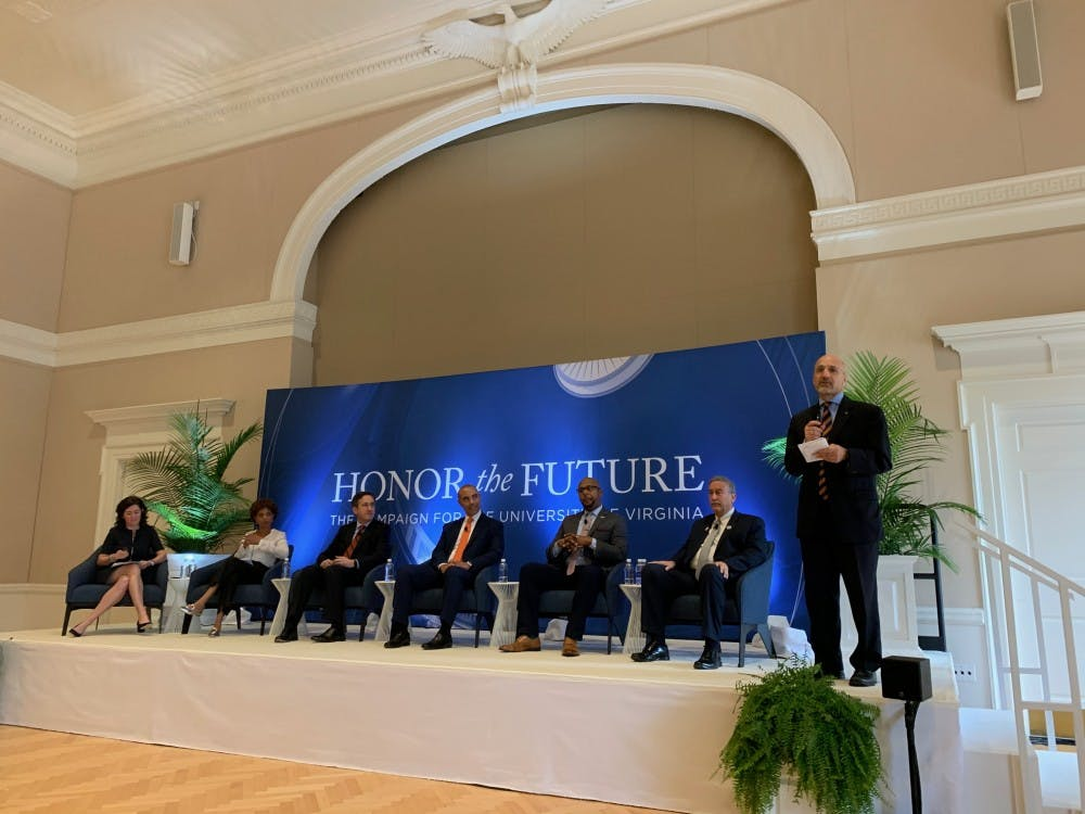 <p>The panelists praised the University for its long-standing commitment to educating students and conducting research on topics related to preserving democracy.&nbsp;</p>