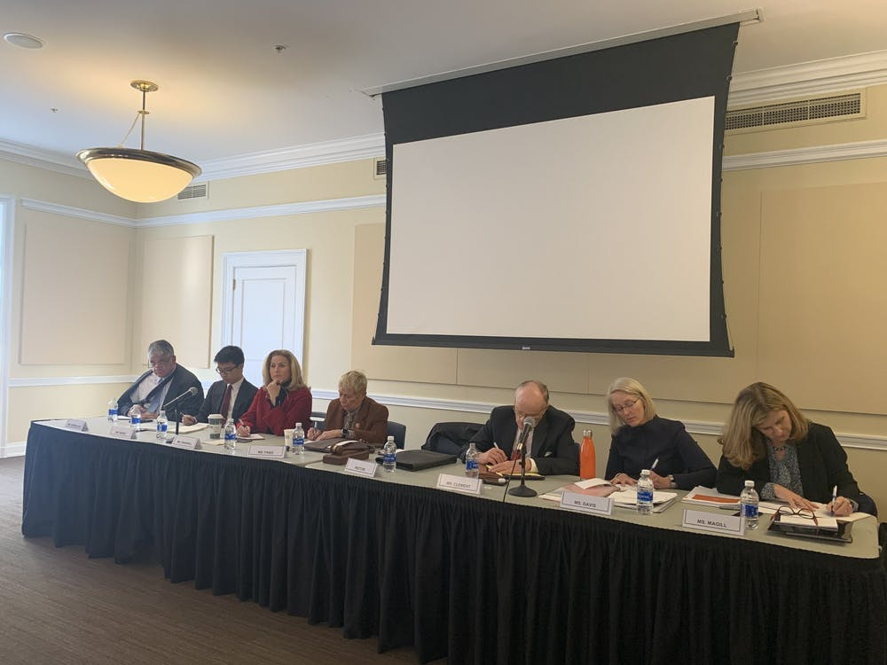 The Board heard community reactions to proposed tuition increases of three to four percent.