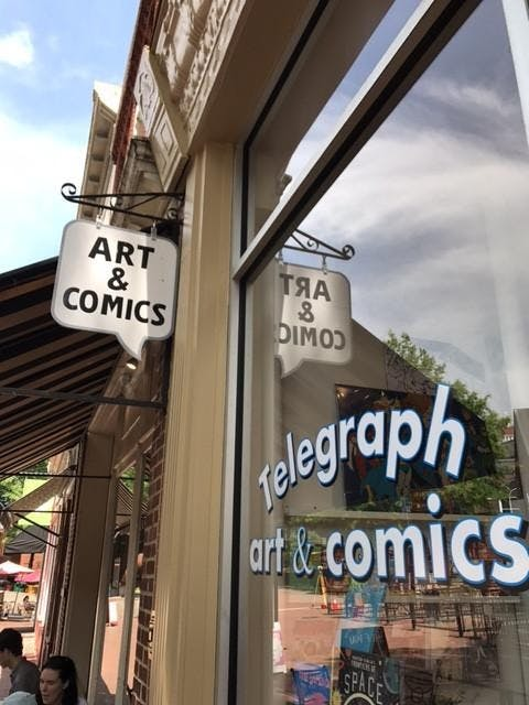 ae-telegraphartandcomics-Courtesy Telegraph Art and Comics
