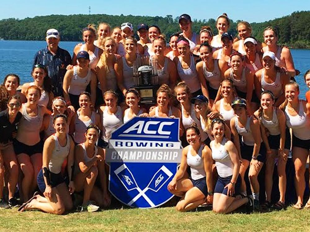 The No. 5 Virginia rowing team won its seventh consecutive ACC title Saturday.