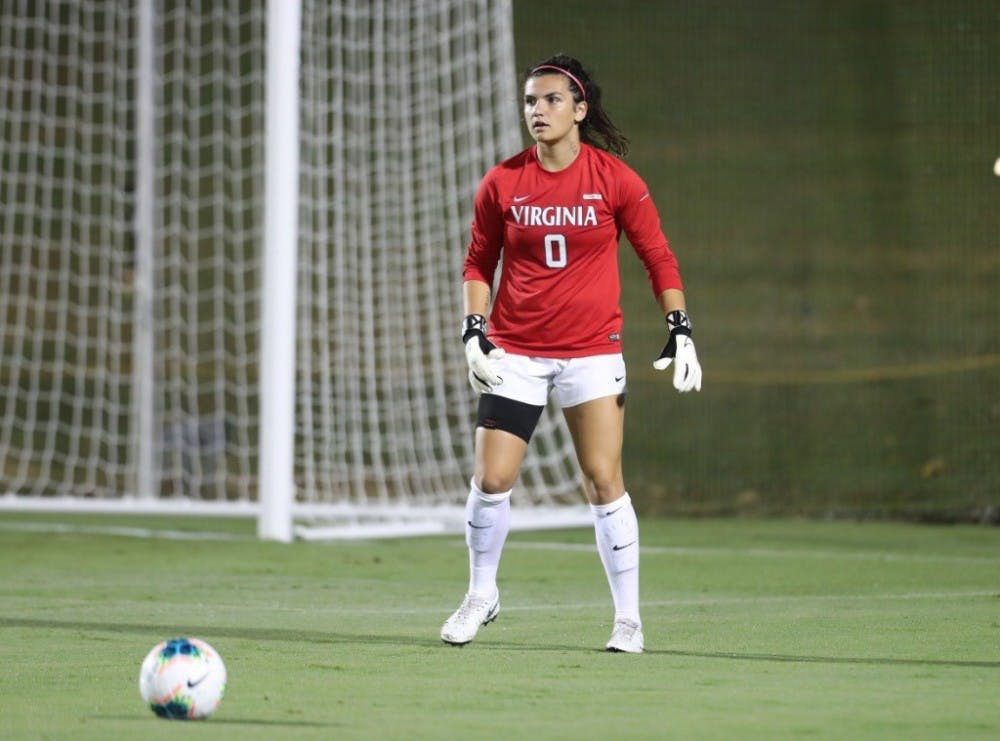 <p>Junior goalkeeper Laurel Ivory posted a clean sheet with four saves against the Blue Devils.&nbsp;</p>