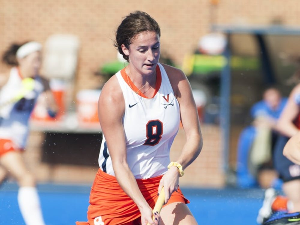 Sophomore midfielder Tara Vittese, Virginia's leading scorer, converted a penalty stroke four minutes into overtime to give the Cavaliers a 3-2 win against Delaware in October.