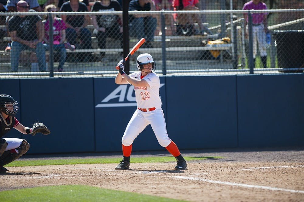 <p>Junior catcher Katie Parks currently leads Virginia's offense, hitting .283 with six home runs, 28 RBI and 13 runs.</p>