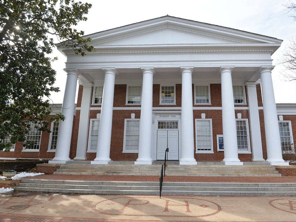 Peabody Hall is the home to the Office of Admissions