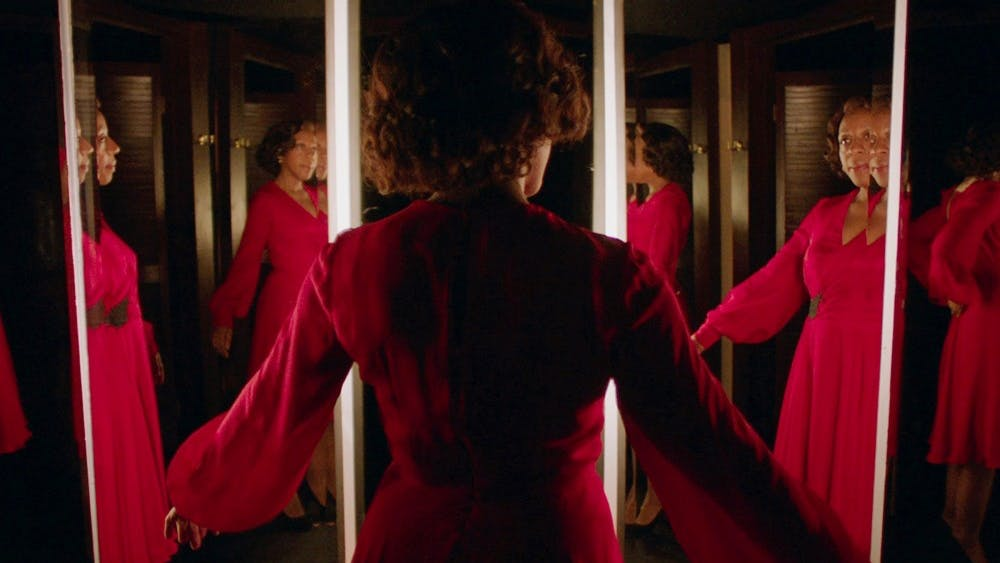 """Peter Strickland's satirical horror film """"In Fabric"""" was shown at the Virginia Film Festival."""
