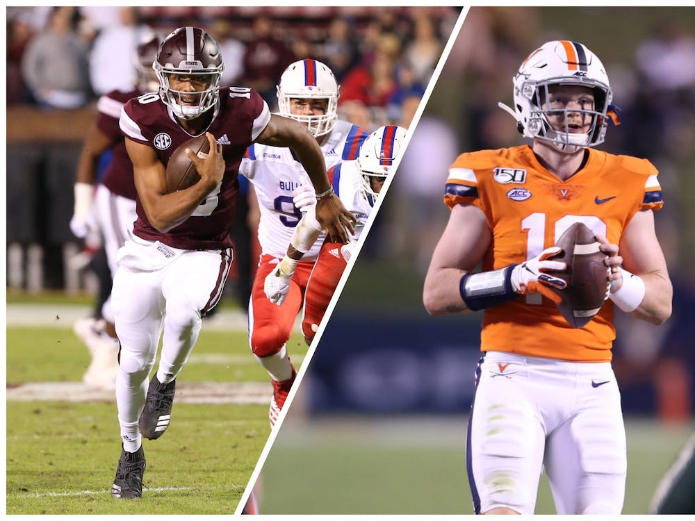 Timing and the repercussions of how college football deals with the pandemic will play a big role in the quarterback battle between Keytaon Thompson and Brennan Armstrong.