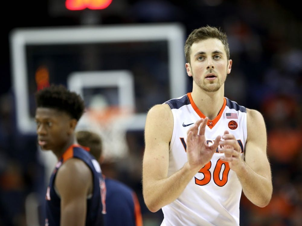 Sophomore forward Jay Huff provided a spark off the bench in Virginia's Saturday afternoon victory over Clemson.