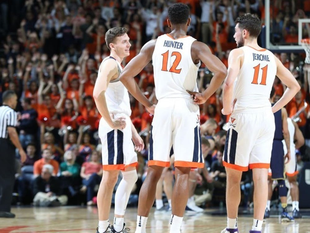 The big three came to Charlottesville together in the recruiting class of 2016.