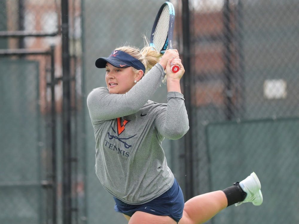 Senior Chloe Gullickson won both of her singles matches against Syracuse and Florida State.