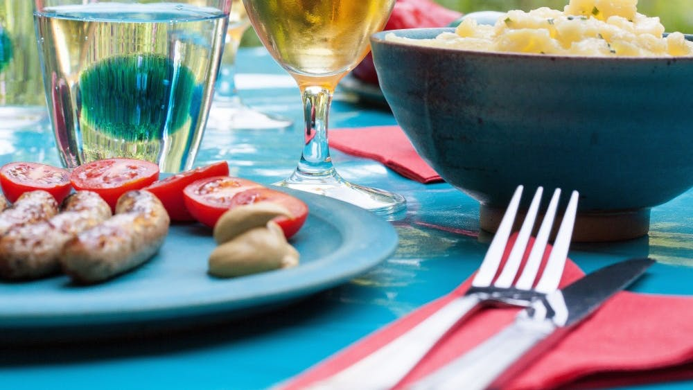 Dinner parties don't have to be stressful or fancy to achieve their goal — bringing people together.