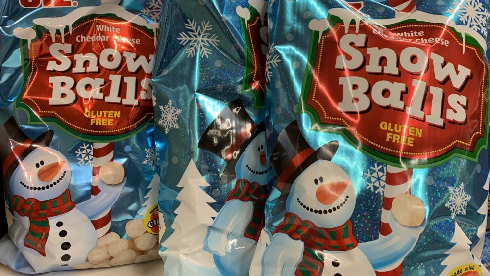 Utz's White Cheddar Snow Balls are a lighter snack option to try out.