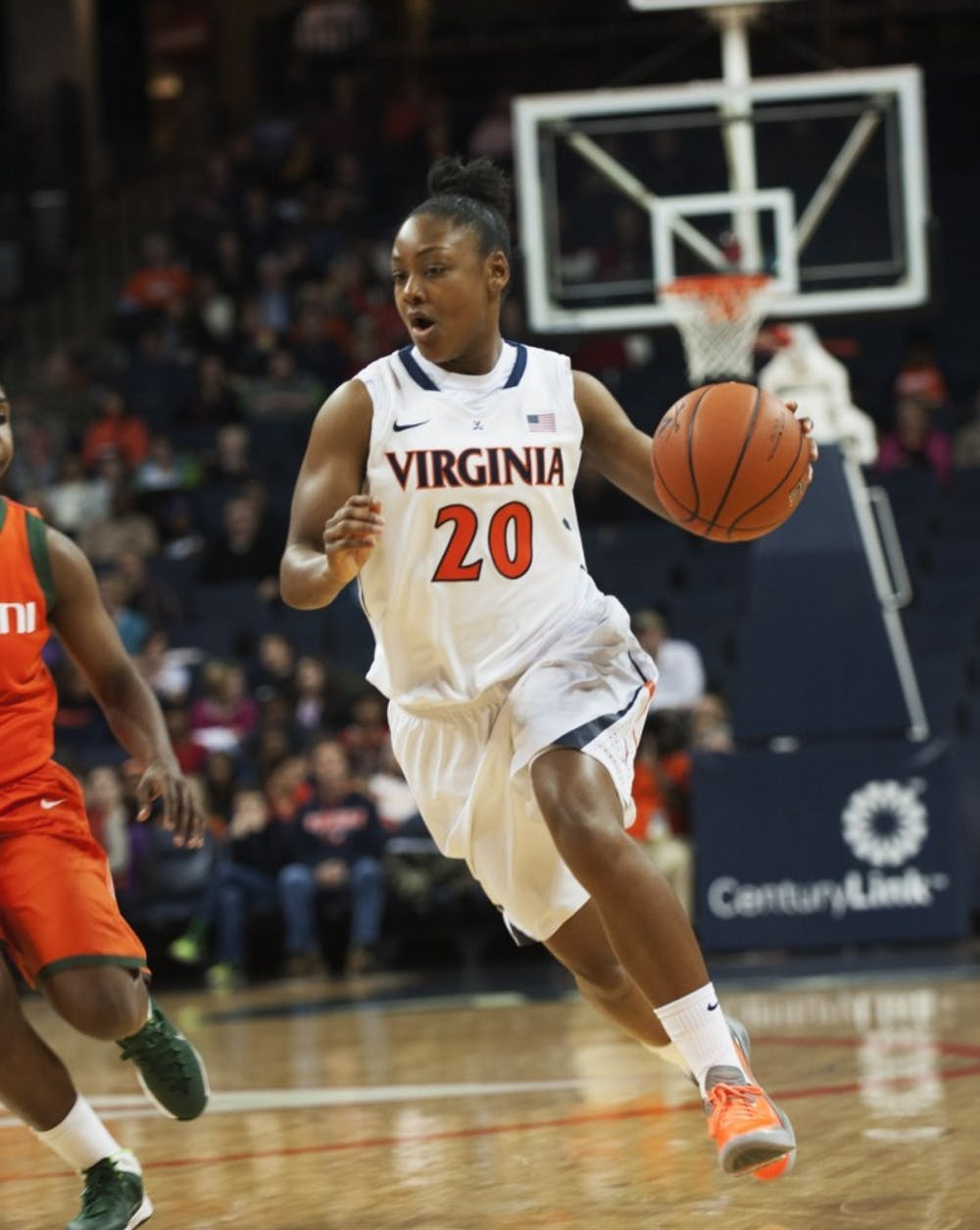 <p>Senior guard Faith Randolph led Virginia in scoring last season, pouring in 16.4 points per game. She also shot a sterling 90.7 percent from the free throw line.&nbsp;</p>