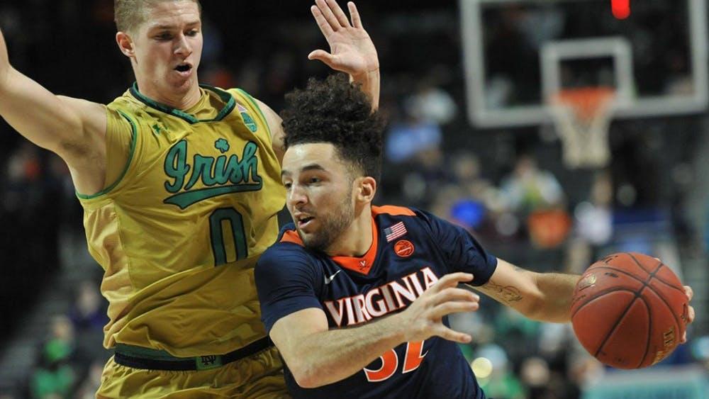 Virginia's lone senior London Perrantes will look to lead Virginia to a deep NCAA Tournament run.