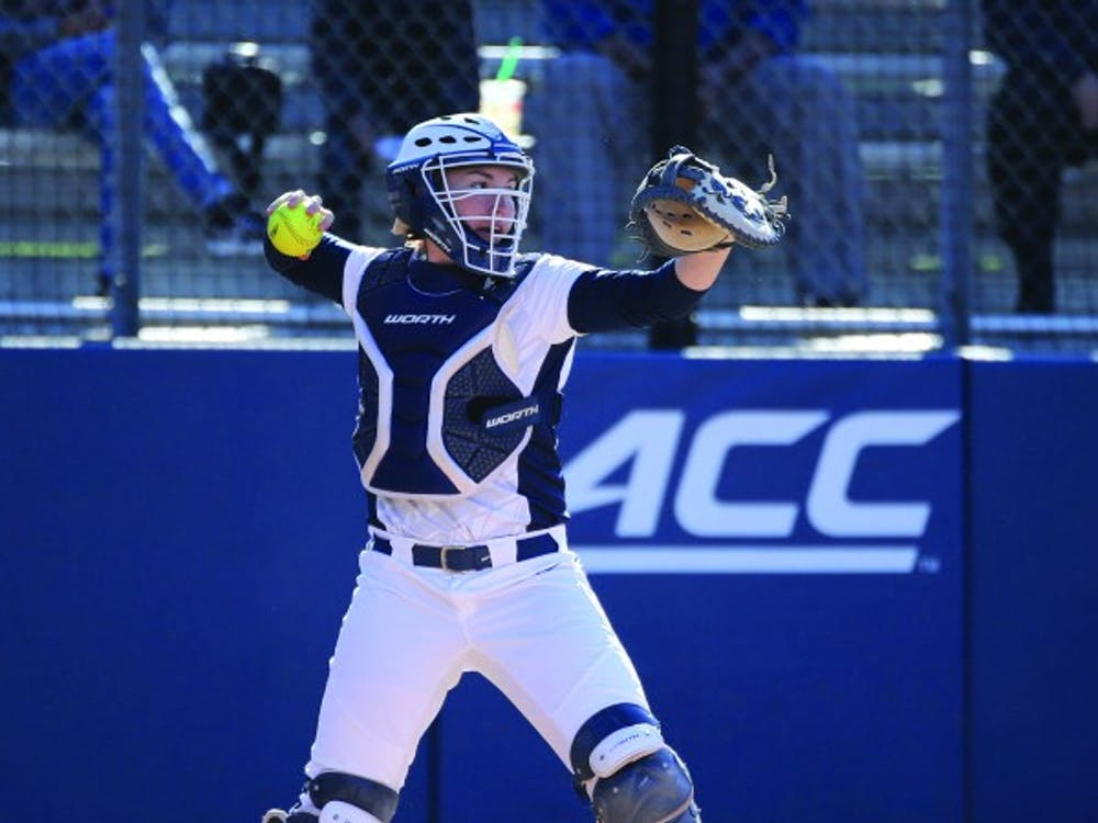 Senior catcher Katie Park's home run helped Virginia force extra innings and ultimately win.