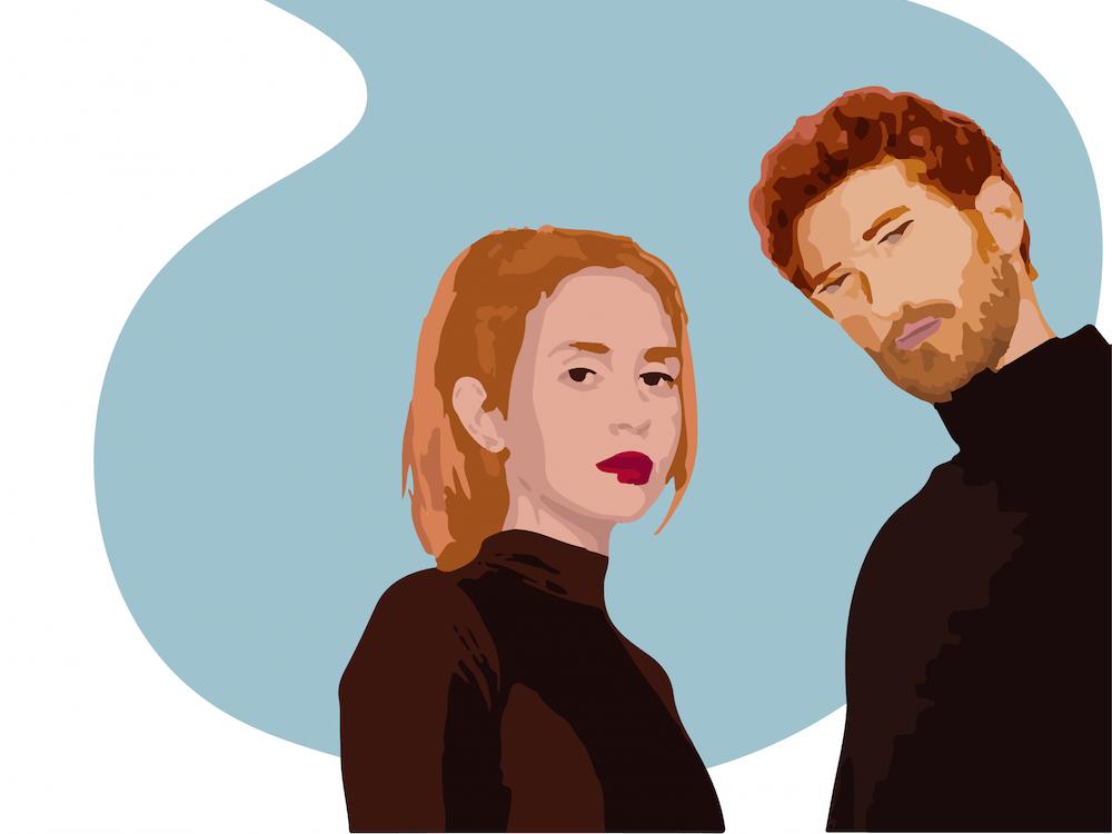 Matthew Lewin and Mica Tenenbaum team up as the rising pop duo Magdalena Bay