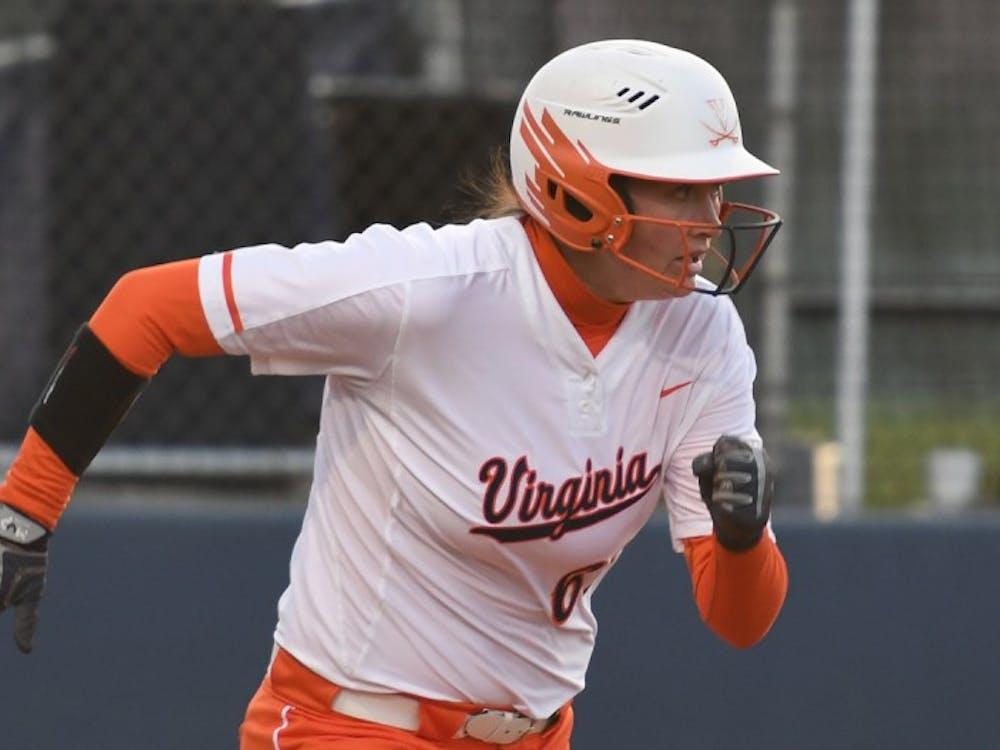 Junior first baseman Danni Ingrahamhit a solo home run in Virginia's 7-5 loss to Louisville.