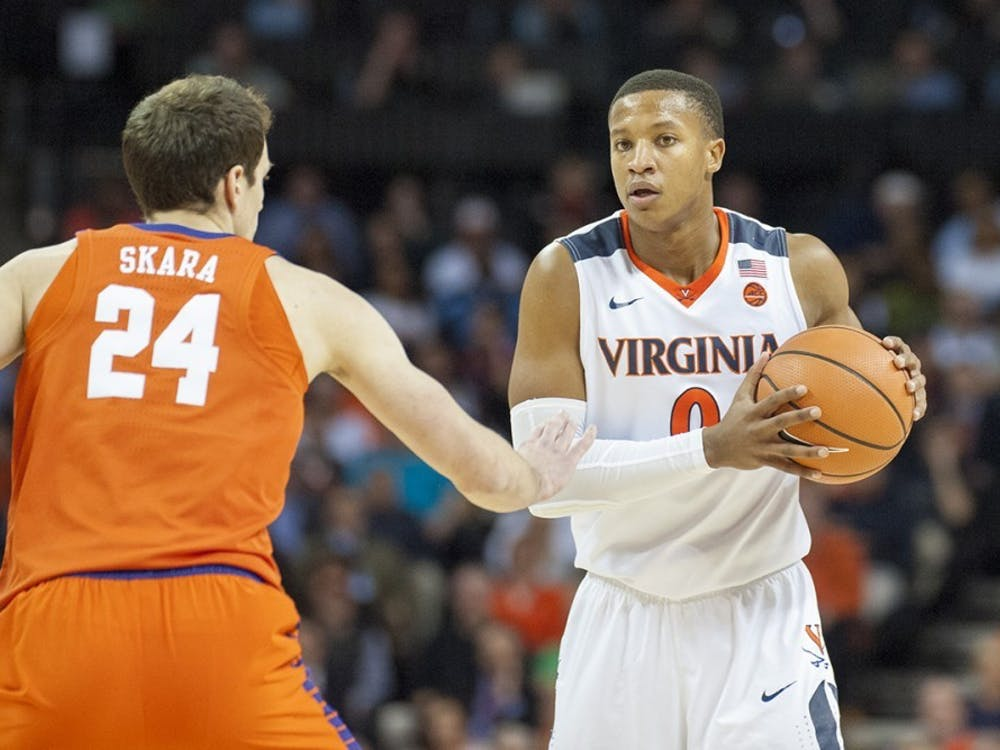 Devon Hall averaged 11.7 points, 4.2 rebounds and 3.1 assists per contest last season.