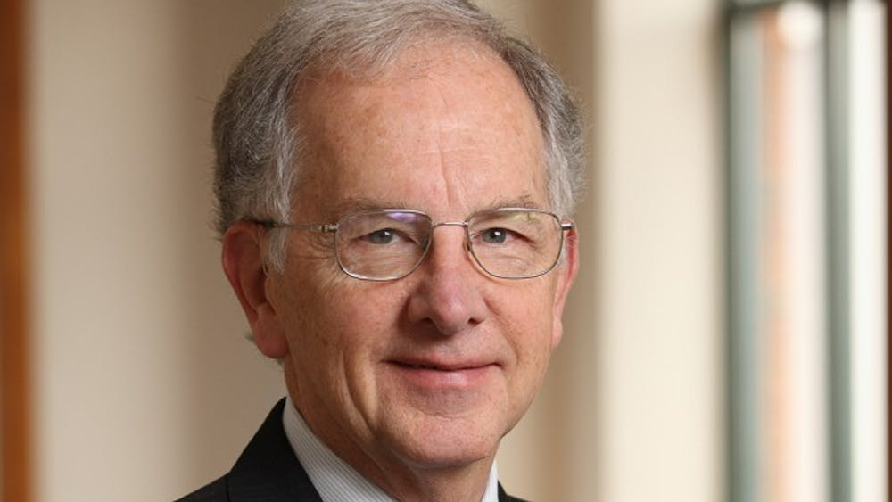 DavidMartin is the current Warner-Booker Distinguished Professor of International Law, and has taught at the Law School for 35 years. Outside of academia, Martin has worked on immigration and security policies for three different presidential administrations.