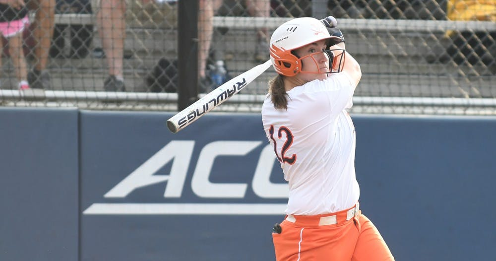 <p>Senior catcher Katie Park had two RBIs in Virginia's&nbsp;3-2 win over Georgia Tech Saturday.&nbsp;</p>