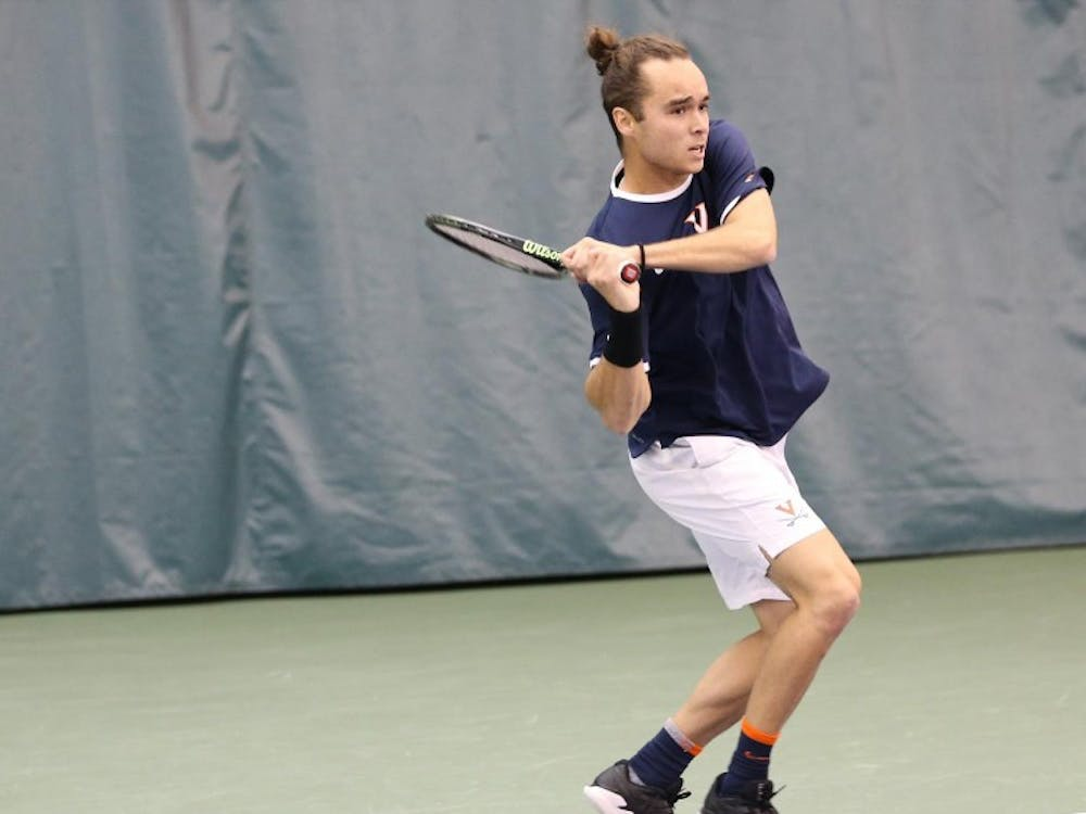 Senior Henrik Wiersholm clinched the Cavaliers' victory over UCF Tuesday.
