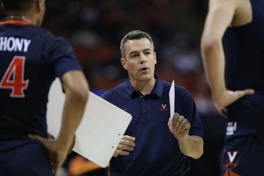 <p>Virginia Coach Tony Bennett received 50 of 65 votes in the AP Coach of the Year poll.</p>