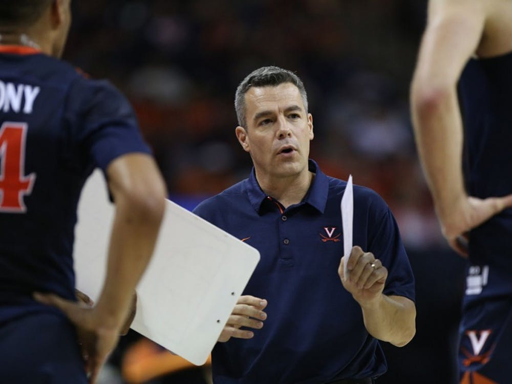 Virginia Coach Tony Bennett received 50 of 65 votes in the AP Coach of the Year poll.