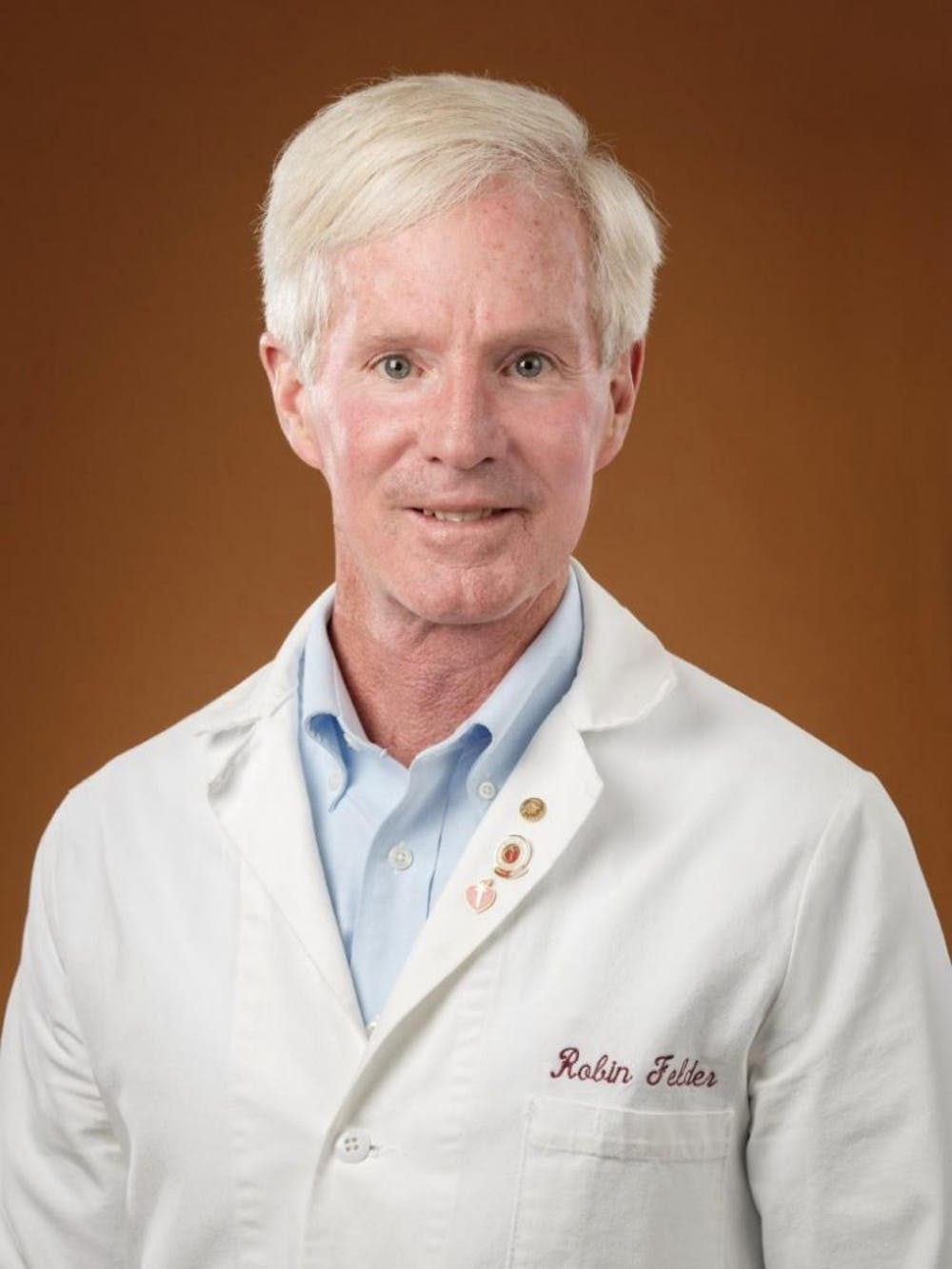 <p>The research team is led by principal investigator Robin Felder, professor of pathology and associate director of laboratory medicine.</p>
