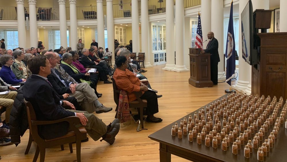 The third annual Liberation and Freedom Day community celebration began with an interfaith service led by chaplains of United Ministries and opening remarks delivered by notable University and Charlottesville community members.