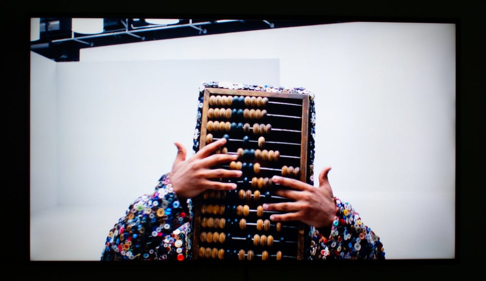 """<p>Artist Nick Cave's work involves the use of elaborate costumes known as """"Soundsuits.""""</p>"""
