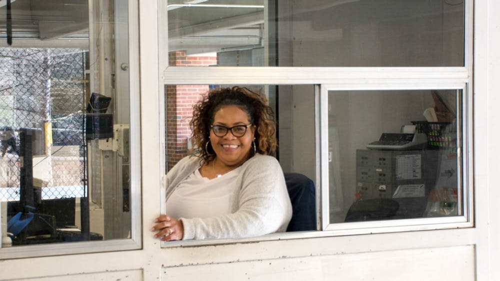 Jada Howard has been working as an attendant at parking garages on Grounds for the past 25 years.