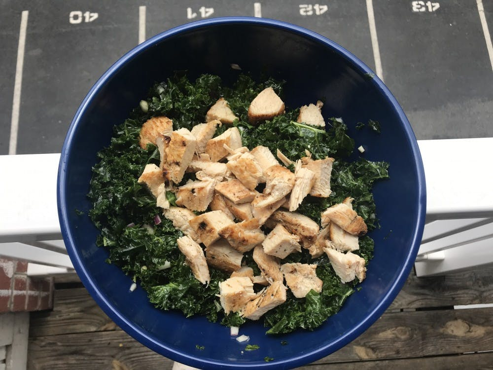 <p>This salad is the perfect dish to bring to potlucks, make for your friends or even eat alone in your house. &nbsp;</p>