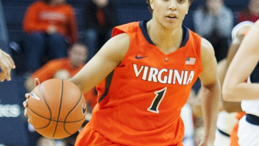 Sophomore floor general Mikayla Venson averages 15.1 points per game to lead Virginia but scored only eight on 14 shots in the loss to Virginia Tech.