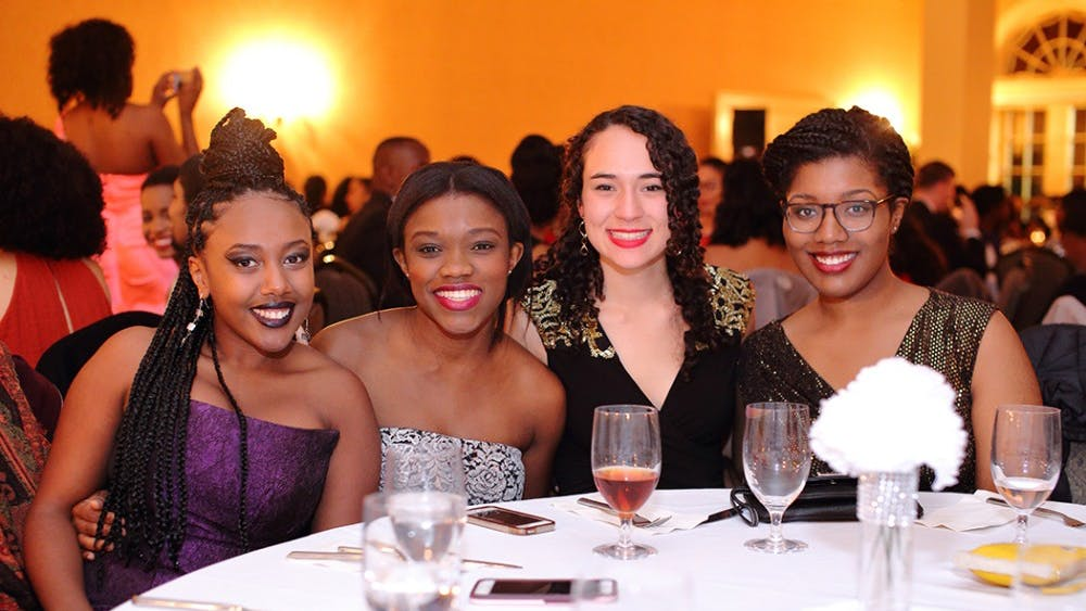 Students mingle at the second consecutive Black Ball, benefitting the Black Ball scholarship fund.
