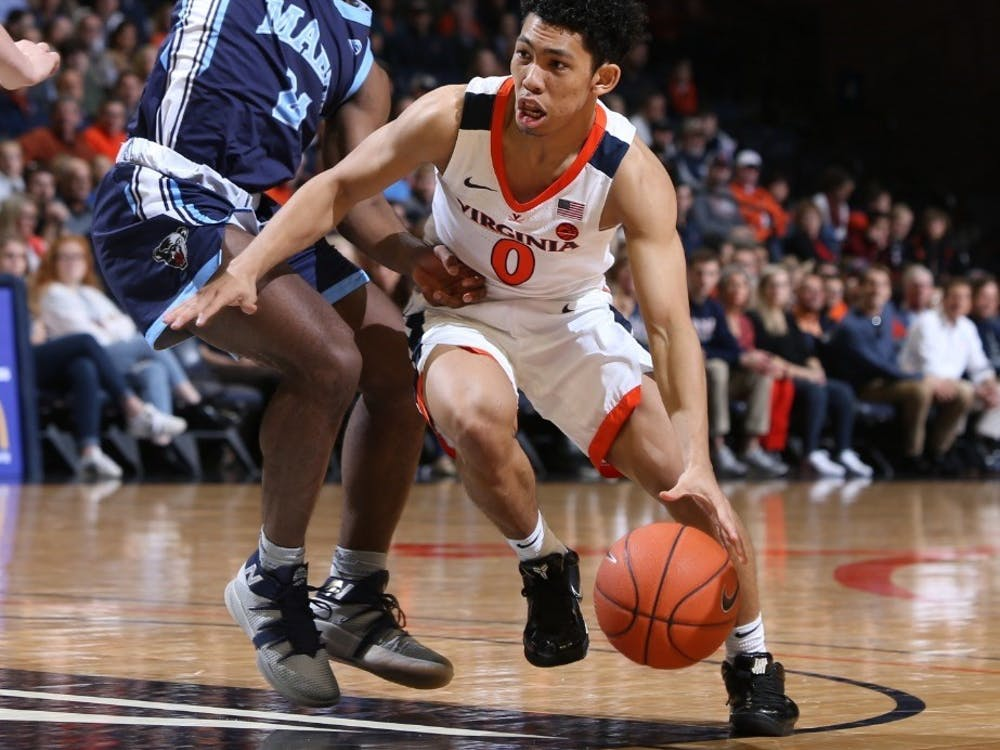 Sophomore guard Kihei Clark matched a career-high with three three-pointers and also had five assists against Maine.