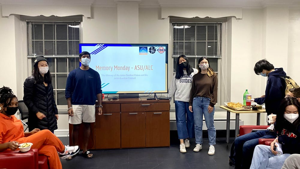 Three student leaders gave their presentations on October 18th in the International Residential College in front of a small crowd of around 20 people.