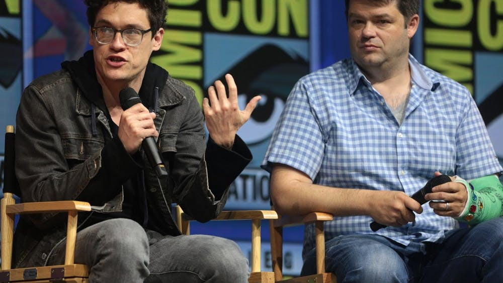 """Writers Phil Lord and Chris Miller speak about """"The Lego Movie 2: The Second Part"""" at the 2018 San Diego Comic Con."""