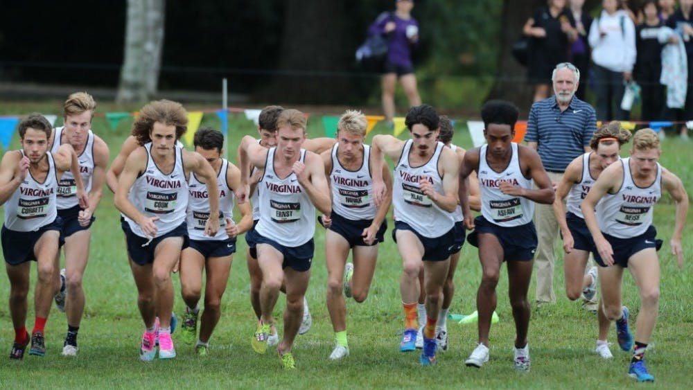 The Virginia men placed 18th overall out of 36 teams as senior AJ Ernst recorded a career-high time of 24:15.7 in the 8k to finish 47th overall.