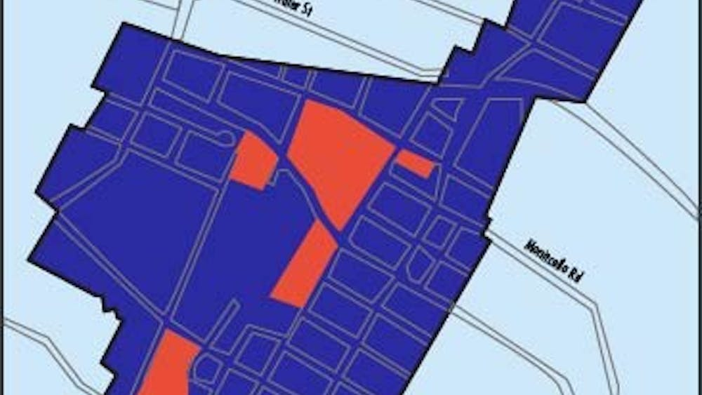 With 340 units of public and assisted housing existing currently, the plan could possibly create 750 new residential units over a 10-15 year period.
