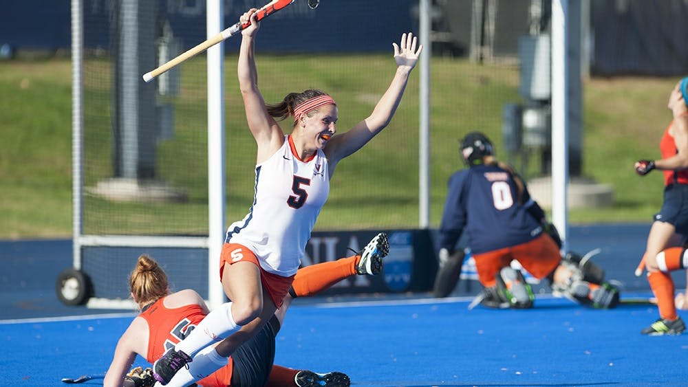 Junior striker Calleigh Foust scored Virginia's first goal in Thursday's loss to No. 1 Syracuse.