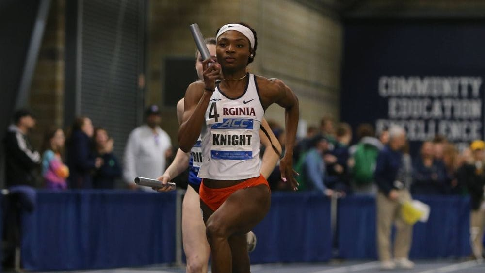 Graduate student Andrenette Knight continues to improve this season — this time, finishing first place in the 400m event and the 4x400 relay.
