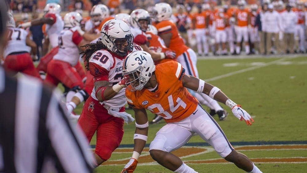 Hall was Virginia's first defensive player to come off the board in this year's draft.