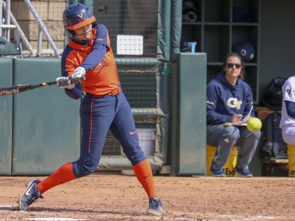 Freshman outfielder Tori Gilbert notched her first career home run in Virginia's win over Georgia Tech Sunday.