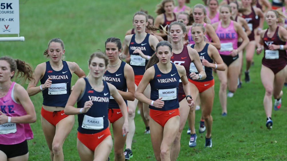 On the women's side, Duke won with 23 points, while Virginia secured second, earning 47 points, and Virginia Tech placed third with 58 points.
