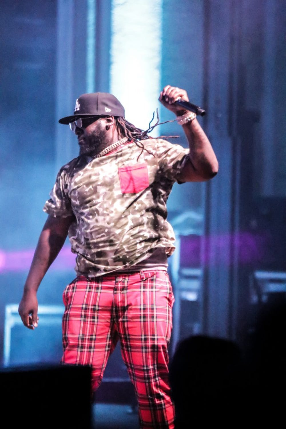<p>T-Pain's performance was part of the University Programs Council's Welcome Week festivities.&nbsp;</p>