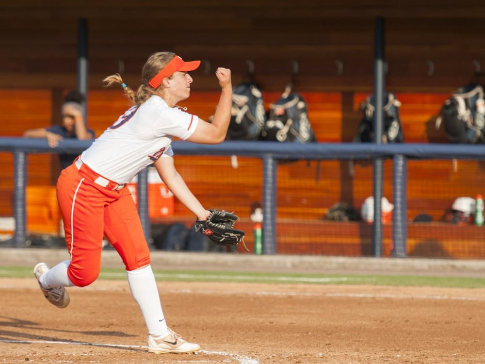 Sophomore pitcher Erika Osherow was named ACC pitcher of the week last week, becoming the first Virginia player to win the honor since 2013.