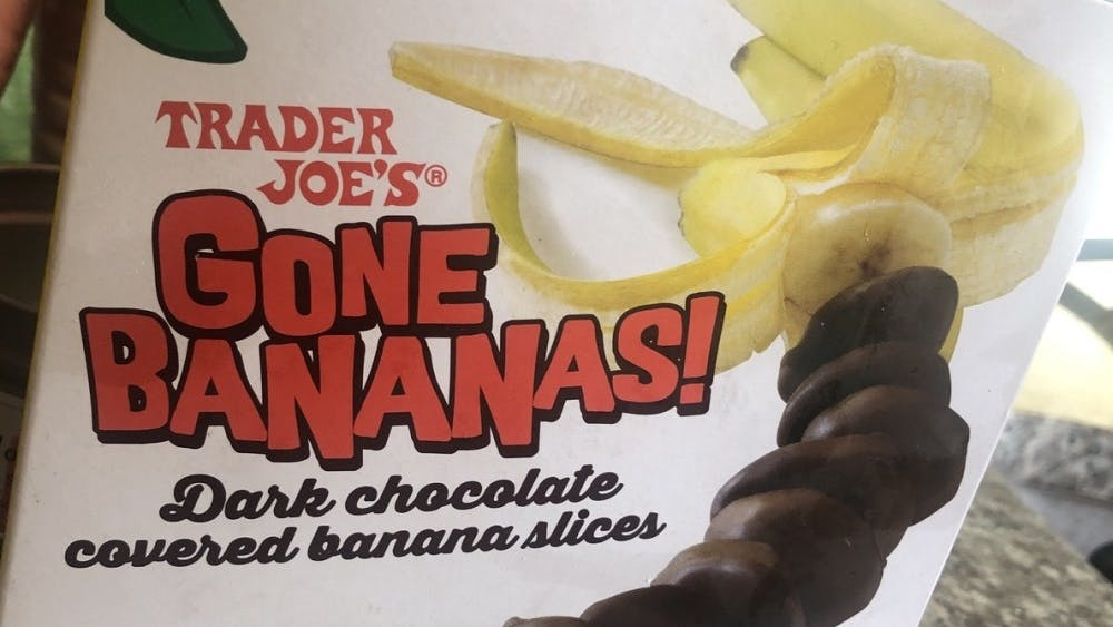 With 20 slices of dark chocolate covered bananas for $2.99, Trader Joe's Gone Bananas can satisfy your sweet tooth.