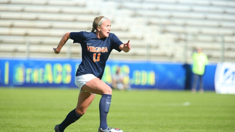 Senior defender Zoe Morse has been a dominant force on Virginia's backline this season and scored her third career-goal against No. 5 Florida State in the ACC Semifinal Sunday.