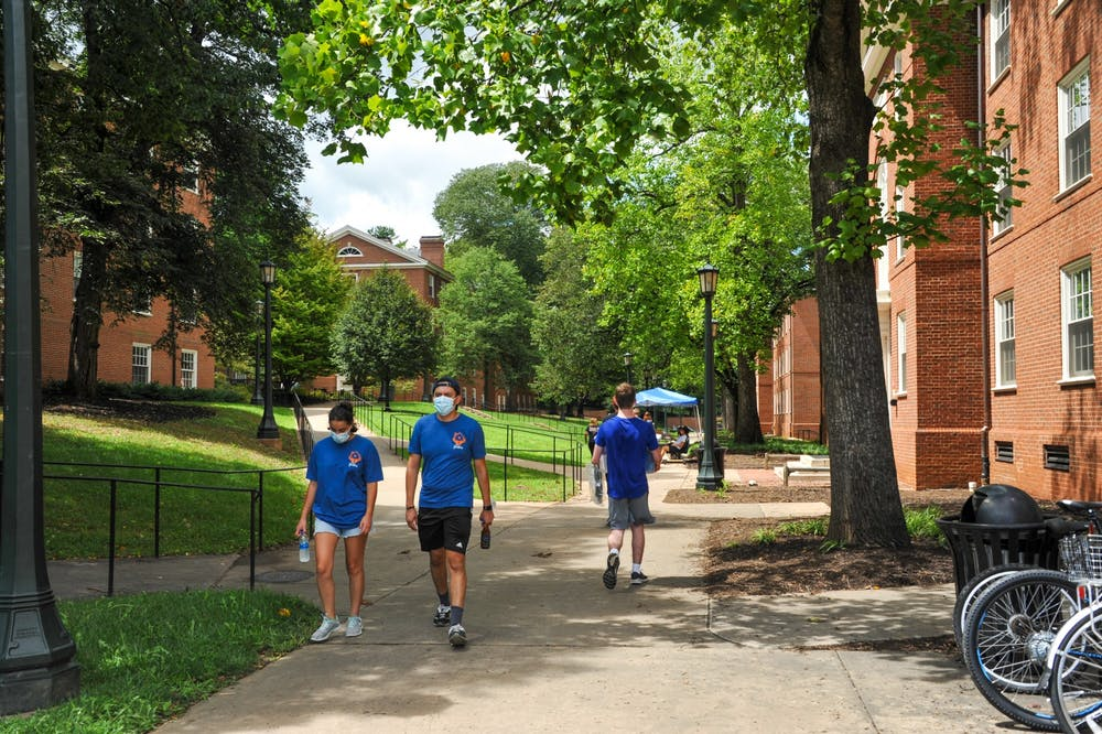 <p>The masking policy requires all individuals, regardless of vaccination status, to wear masks when inside University property, including academic buildings, libraries, dining halls and IM Rec facilities.&nbsp;</p>