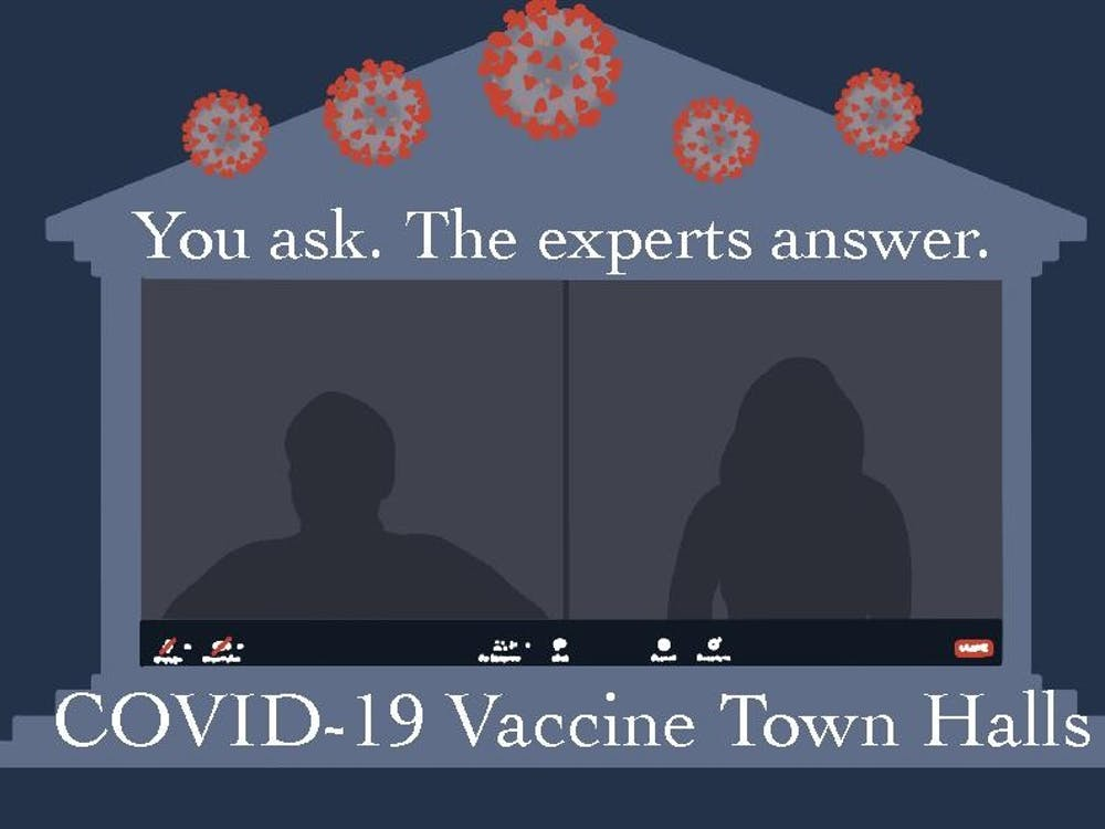 Ebony Jade Hilton, who was one of the first U.Va. Health staff members to receive the COVID-19 vaccine, touched on three main topics regarding the vaccines — the importance of mass vaccination, safety concerns and the issues surrounding vaccination.