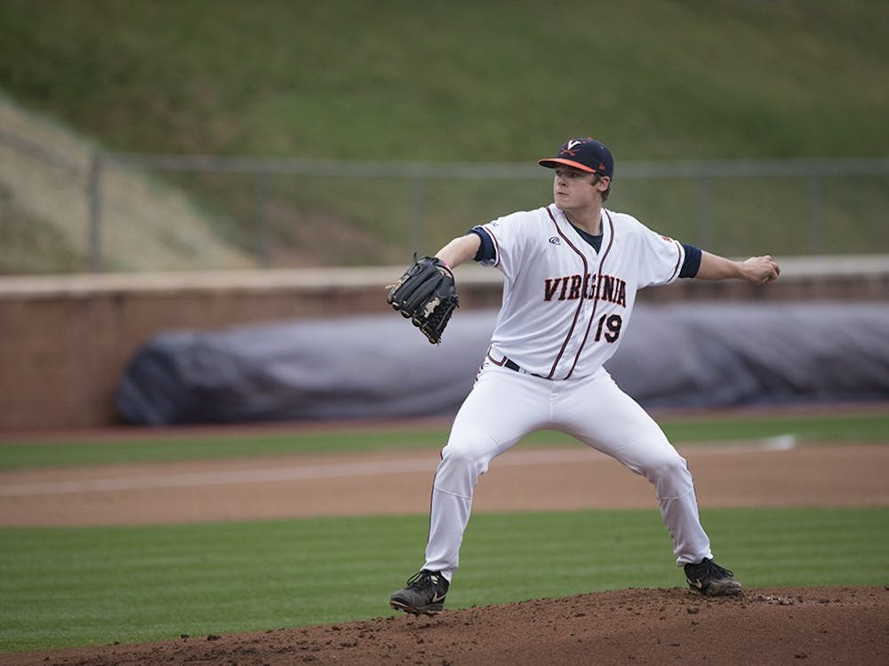 Now a junior, lefty Nathan Kirby is bringing it once again. He has a 1.94 ERA, best on the Virginia staff, and 69 strikeouts in 51 innings pitched.